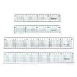 Cutting Ruler with Stainless Steel Edge
