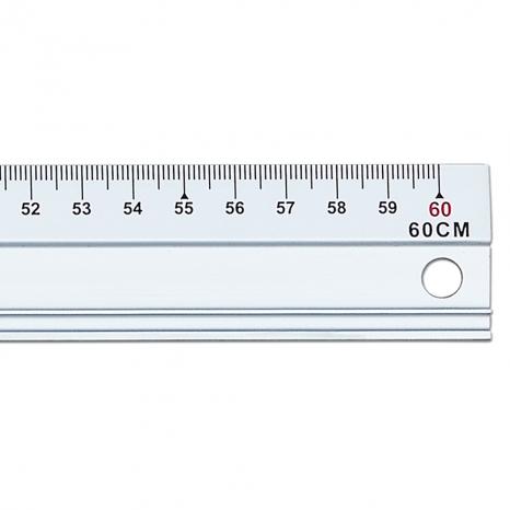 Aluminum ruler